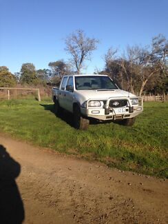 02 3L holden rodeo duel cab  Sidmouth West Tamar Preview