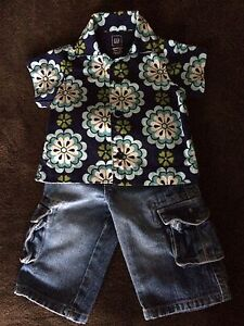 Gap Infant Boy Outfit 3-7mths