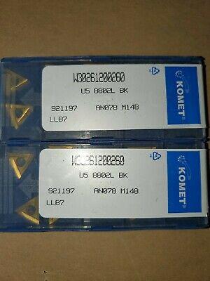 Komet Carbide Insert W30261200260 New 10 Pack Germany