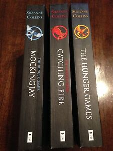 The Hunger Games Book Trilogy.