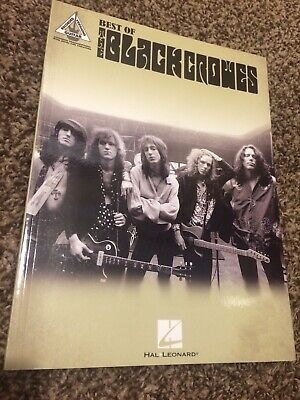 Best of the Black Crowes (2016, Paperback) Recorded Versions Guitar Hal