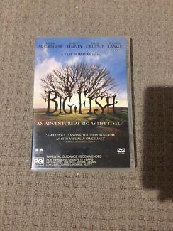 """""""Big Fish"""" DVD"""