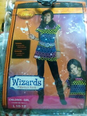 Disney Wizards of Waverly Place Halloween Costume Dress Girls L New Selena Gomez
