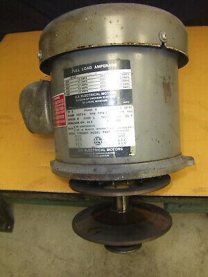 Bridgeport 2hp 3ph Spindle Drive Motor For Series I Milling Machine
