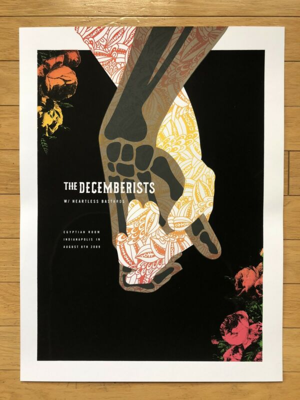 The Decemberists Poster Screenprint
