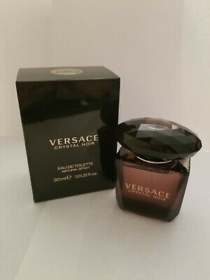 VERSACE CRYSTAL NOIR 1 OZ EDT SPRAY~ NEW~