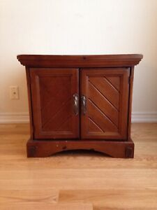 2 side tables with storage for sale!!!