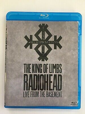 Radiohead The King Of Limbs Live From The Basement Blu-ray Disc