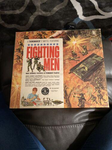 VINTAGE 1965 MATTEL FIGHTING MEN THINGMAKER SET