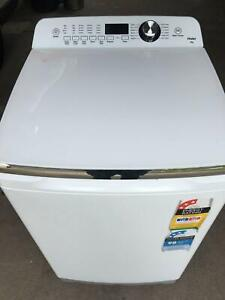 Haier HWT80MW2 8kg Top Load Washing Machine, 1 year old