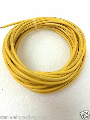 16 Awg Machine Tool Wire E-80256 Ul Mtw 600v Bc-5w2 24ft Yellow