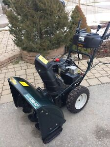 """Yard Works 8.5 HP/27""""  Pull and electric start works great"""