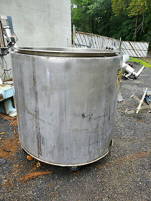 200 Gallon Jacketed Stainless Steel Tank