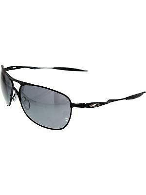 Oakley Men's Mirrored Crosshair OO4060-03 Black Square Sunglasses
