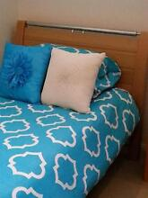 King Single Bed and matching bedside table West Wollongong Wollongong Area Preview