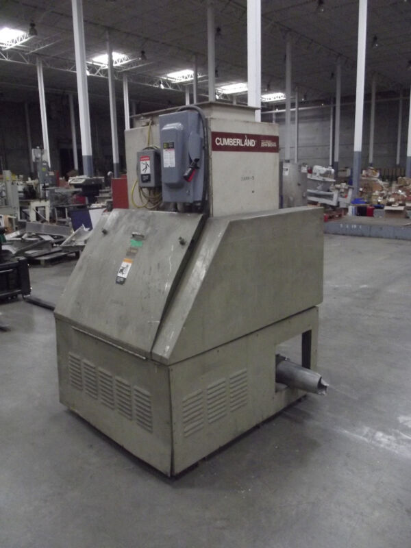 Cumberland Model 684 25 Hp Grinder / Granulator   Lot 001
