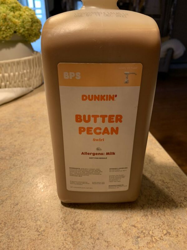 Dunkin Donuts Butter Pecan Swirl With Pump