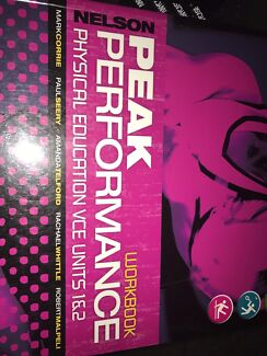 Peak performance workbook physical education vce units 34 nelson peak performance workbook physical education vce units 1 and 2 fandeluxe Choice Image