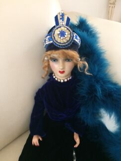 Antique French boudoir doll 1930s
