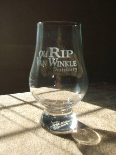 PAPPY VAN WINKLE OLD RIP GLENCAIRN TASTING BOURBON WHISKEY CRYSTAL GLASS