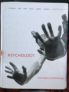 Psychology - From Inquiry to Understanding $50