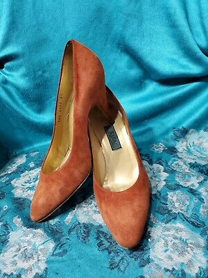 Vintage GUCCI Shoes Womens 37 EUR Or 7 US Pumps Heels!! MADE IN ITALY