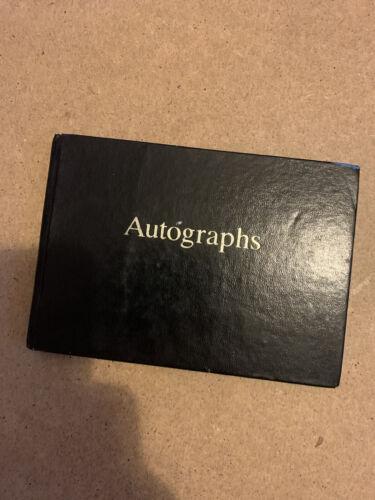 autograph Book Snooker Players 37 Autographs Willie Thorne , Ebdon, Bond,Virgo