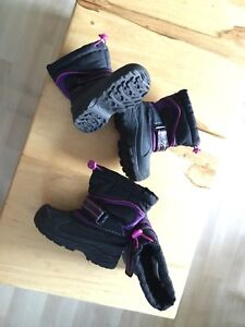 Perfect condition little girls winter boots