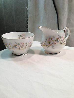 Duchess Bone China Sugar Bowl & Creamer - England - Caprice (Duchess Sugar)