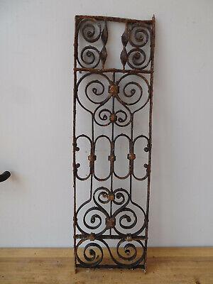 V3920 Window Bars ~ Balkongitter~Trellis~Art Nouveau Fence Element Grid