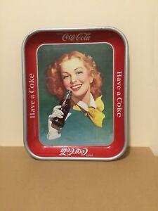 Vintage Coca Cola original 1950's Tray