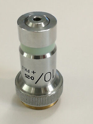 Microscope Lens100.25 Ph.i Vickers England Y8787 Microplan