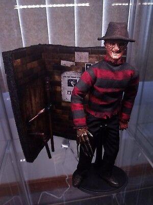 1/6 Scale newspaper Freddy Krueger elm street Action Figure horror halloween