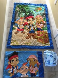 Jake and the Neverland Pirates toddler bedding set