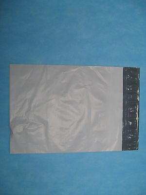 50 - 12 X 15.5 White Poly Mailers No Bubble