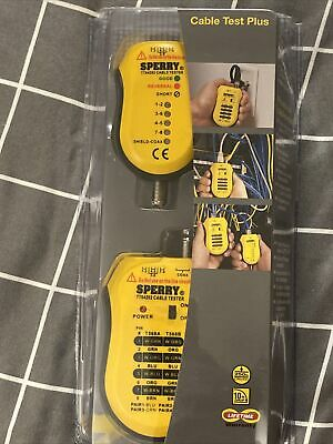 Sperry Instruments Tt64202 Cable Test Plus Coax Utpstp Cable Tester