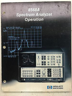 Hp 8568a Spectrum Analyzer Operation Manual Pn 08568-90002