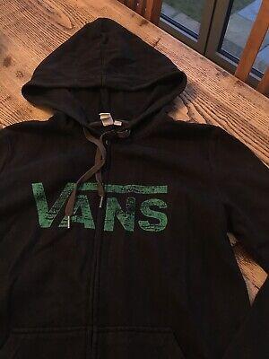 Vans Womens Zip Up Hoodie Size Small