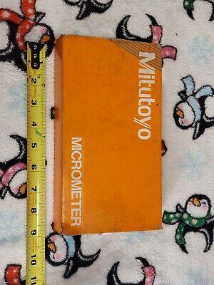 Mitutoyo 2-20 Id Mic .001 - Used