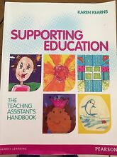 Teachers Aide textbook - supporting education. Karen Kearns Albany Creek Brisbane North East Preview