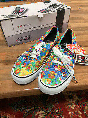 Nintendo Vans,Super Mario Bros,UK Size 5 Brand New Discontinued Rare VN0004MLJPA