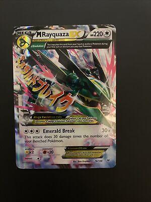 Lesen La Bezeichnung M Rayquaza Ex Mega Full Art Glänzende Orica