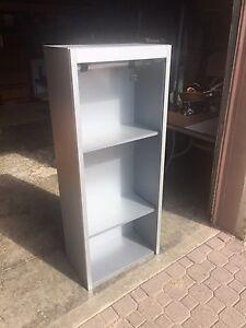 Grey Shelving Unit W/ 2 Removable Shelves