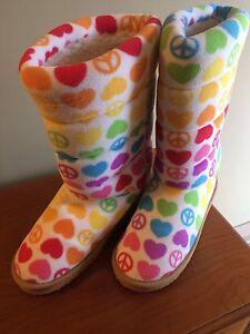 Brand new Melissa and Doug slipper boots