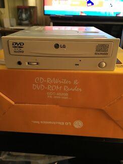 LG CD - Rewriter & DVD- Rom Reader