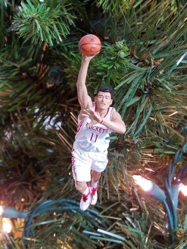 yao MING houston ROCKETS basketball NBA xmas ornament HOLIDAY vtg JERSEY 11