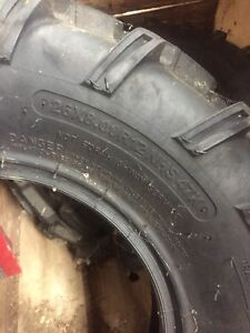 1 front tire. 1 back tire