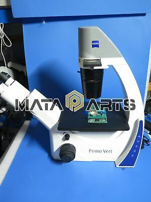 1pcs Used Zeiss Inverted Microscope Primo Vert