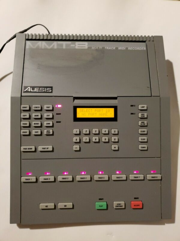 Alesis MMT-8 Sequencer Midi Recorder