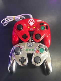"""Wii gaming controllers """" Mario series """""""